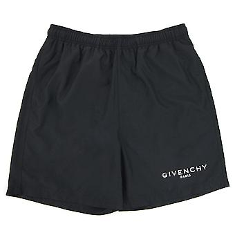 Givenchy Givenchy Logo Zwemshort Zwart