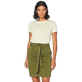 BOSS Tesue T-Shirt, Jaune (Light/Pastel Yellow 741), Large Femme
