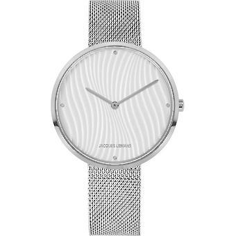 جاك ليمانز - مجموعة تصميم المرأة ساعة اليد 1-2093G