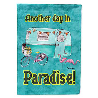 Caroline's Treasures 8758Gf Another Day In Paradise Flag, Piccolo, Multicolore