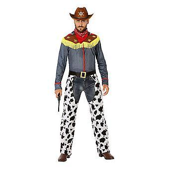 Costume per adulti 114487 Cowboy
