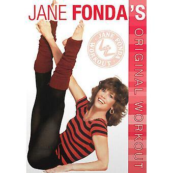 Jane Fondas Original Workout DVD (2015) Jane Fonda cert E Região 2
