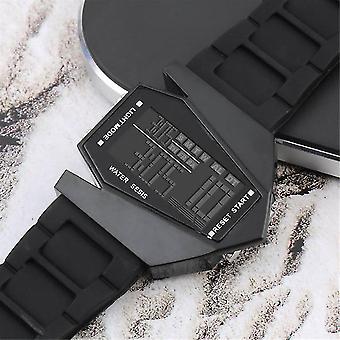 Licht digitale sport quartz siliconen mode led polshorloge herenhorloge
