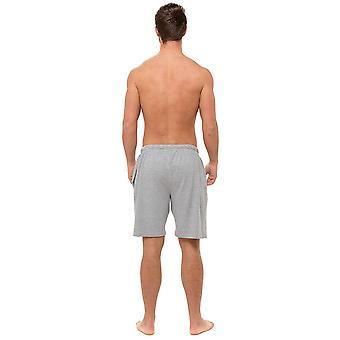 Tom Franks Mens Honeycomb Jersey Lounge Shorts