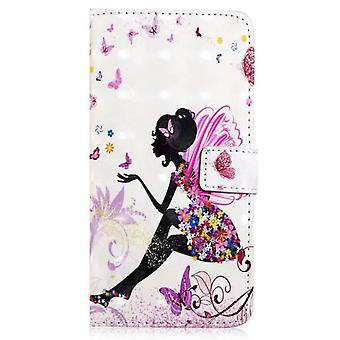Wallet Folio Purse Case For Iphone 11 Pu Leather Flip Cover