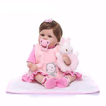 Renașterea papusa 40cm natural silicon renăscut baby doll copii playmate realiste girafa baby păpuși pentru copii printesa copii jucărie cadou drăguț