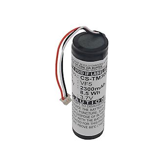 Battery for TomTom VF5 Go 300 400 4D00.001 500 510 530 700 710 910 GPS 2300mAh