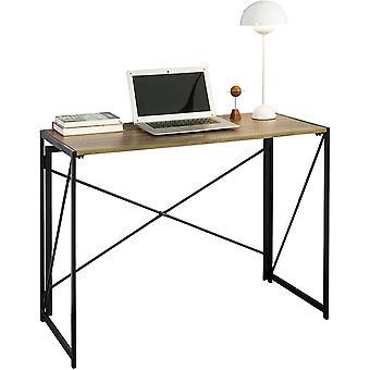 SoBuy FWT78-F Home Office Industrieel Ontwerp Opvouwbaar Bureau