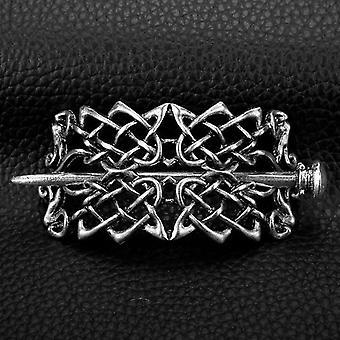Hairpin Celtics Knots Crown Vintage Metal Hair Stick