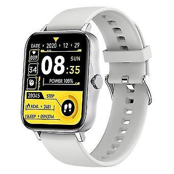 Smart watch m5 bluetooth oproep lichaamstemperatuur smartwatch 1.75inch mtk2502d muziek spelen mannen vrouwen
