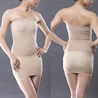Wedding Seamless Strapless Full Slip Slim Dress Shapewear Bodysuit