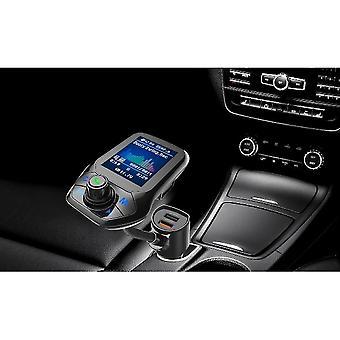 Bluetooth Fm Sender Auto Adapter Mp3 Player Unterstützung Tf Karte mit Qc3.0 Schnellladegerät