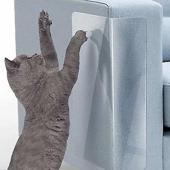 2 Pieces Of Anti-scratch Stickers For Pet Cat Sofa (23*46cm)