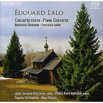 E. Lalo - Douard Lalo: Concerto Russe; Piano Concerto [SACD] USA import