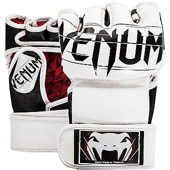 Venum Undisputed 2.0 Nappa Leather MMA Gloves - White