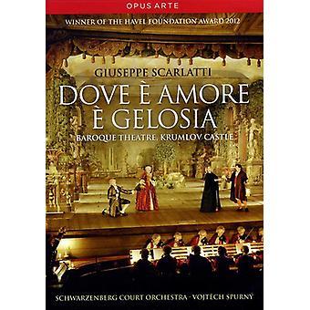 Import USA Dove E Amore E Gelosia [DVD]