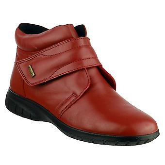 Cotswold Womens Chalford Ankle Boot Red
