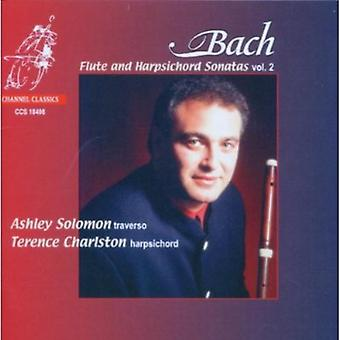 J.S. Bach - Bach: Flute and Harpsichord Sonatas, Vol. 2 [CD] USA import