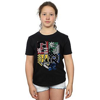 Harry Potter dziewczyny Hogwartu Varsity T-Shirt