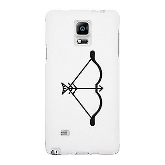 Bow And Arrow-Left White Phone Case