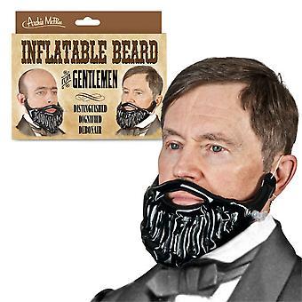 Pertrechos y amigos barba inflable para un caballero