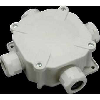 Caja de empalme eléctrica IP67 hasta cuatro entradas para uso externo o interno