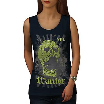 Warrior Dead Death Women NavyTank Top | Wellcoda