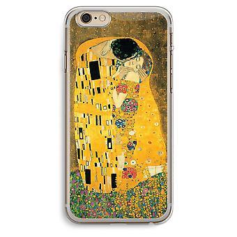 iPhone 6 Plus / 6S Plus transparant Case (Soft) - Der Kuss