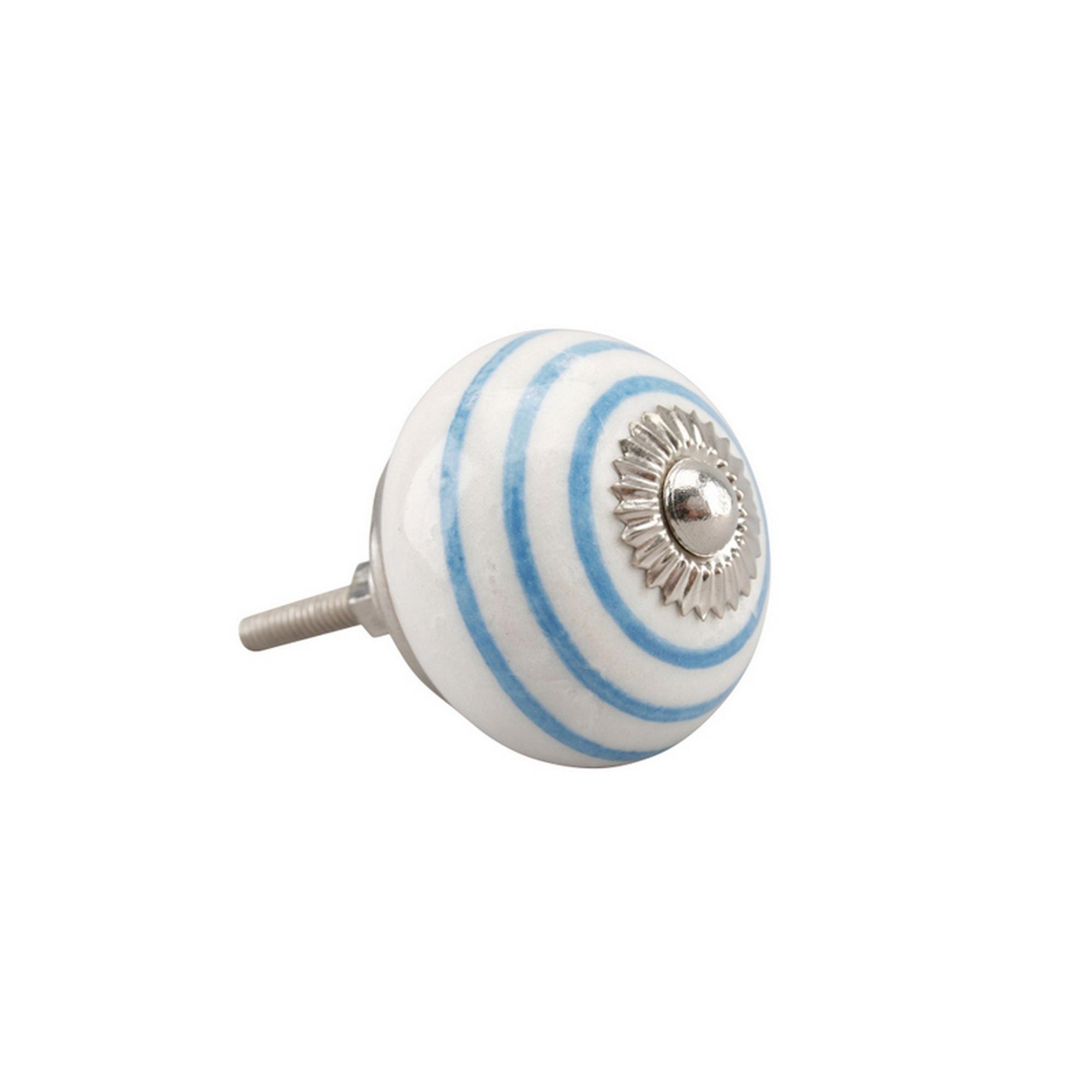 CGB Giftware Blue Spiral Drawer Handle