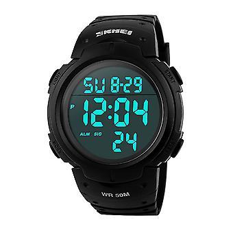 Skmei Extra Large Display Digital Watch 50m Sports Watch Stopwatch & Alarm 1068