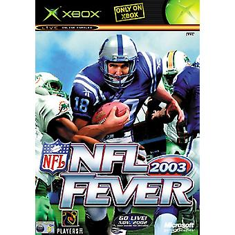 NFL Fever 2003 (Xbox) - As New