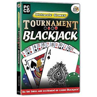 Ultimate games Tournament BlackJack (PC-CD)-nieuw