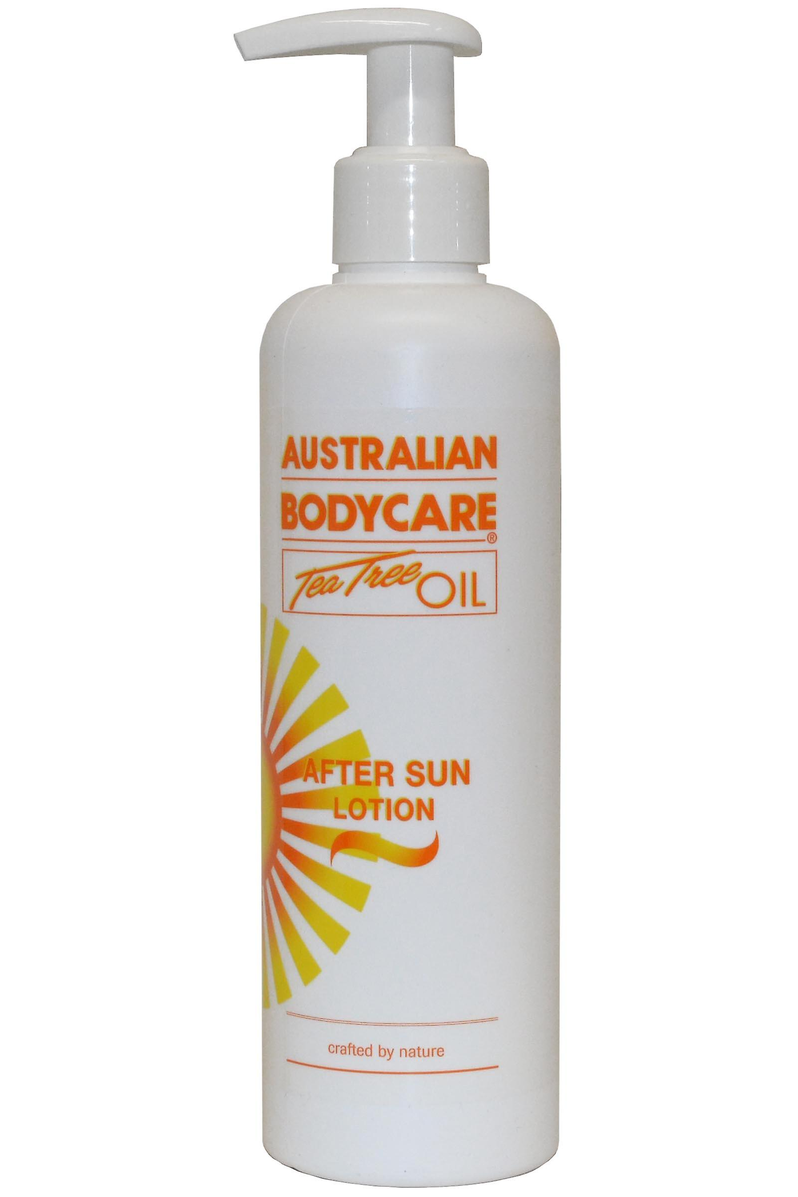 Australian Bodycare After Sun Lotion 250ml made with Tea Tree Oil