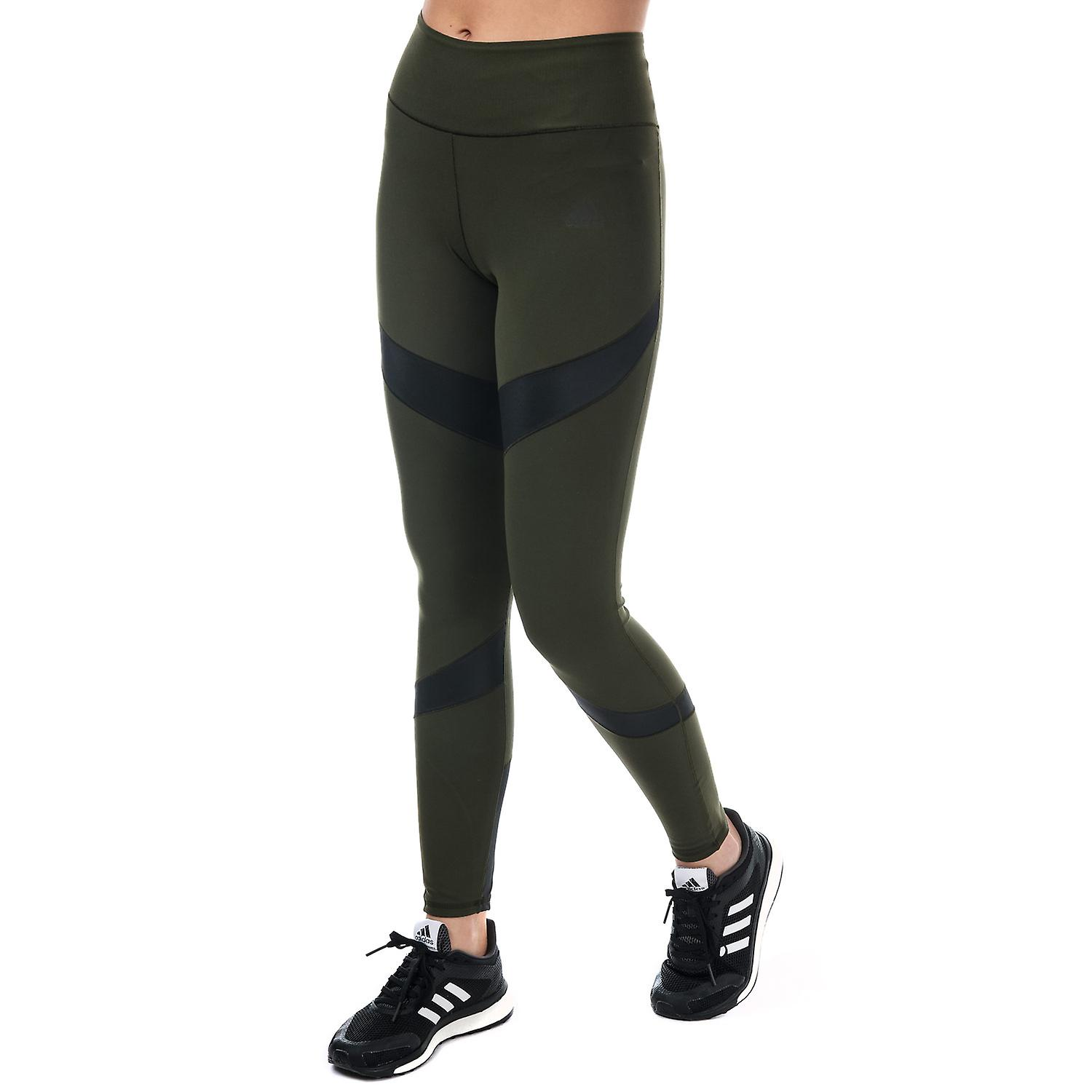 b161523fef4 Womens adidas Ultimate Warm Tights In Night Cargo | Fruugo