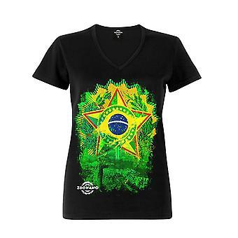 Zoonamo T-Shirt ladies Brazil of classic