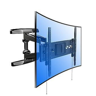 Fleximounts R2 für flaches Panel und gebogenes Panel Uhd Hd TV Wandhalterung für die meisten von 32-70 Zoll
