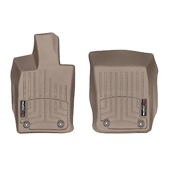 WeatherTech DigitalFit 4511801 - All Weather Custom Fit Floor Liners - Front Row ONLY - Fits 2017-2018 Porsche Panamera