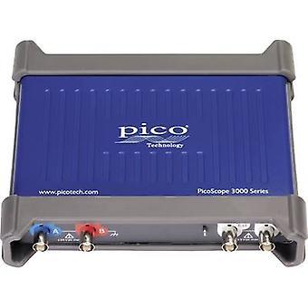 pico 3206D USB Oscilloscope 200 MHz 2-channel 500 MSa/s 256 MP Digital storage (DSO), Function generator