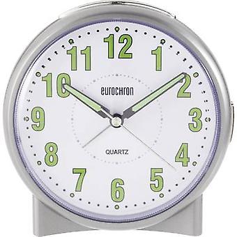 Eurochron S139C2 クオーツ目覚まし時計シルバー