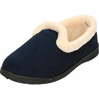 Cushion-Walk Wine Warm Lined Slip On Slippers