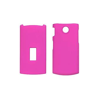 5 Pack -Soft Touch Snap-On Case for LG GD570 dLite - Hot Pink