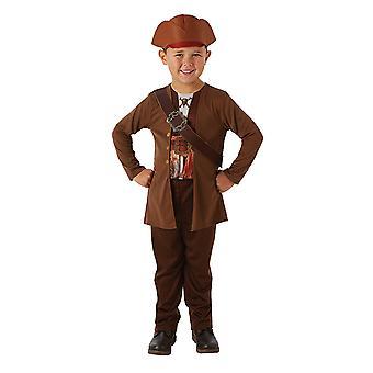 Jack Sparrow Fluch der Karibik 5 Classic Kinderkostüm Kostüm