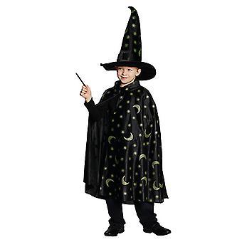 Cape di magia mago mago costume per i bambini
