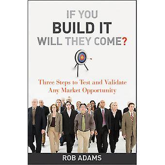 إذا كنت بناء عليه سوف يأتون؟ --ثلاث خطوات لاختبار والتحقق من صحة أي