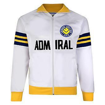 Leeds United FC Official Mens 1978 Admiral Retro Track Jacket