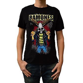 Amplified Ramones Gabba Gabba Crew Neck T-Shirt