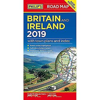 Filipa Wielkiej Brytanii i Irlandii mapy drogowe