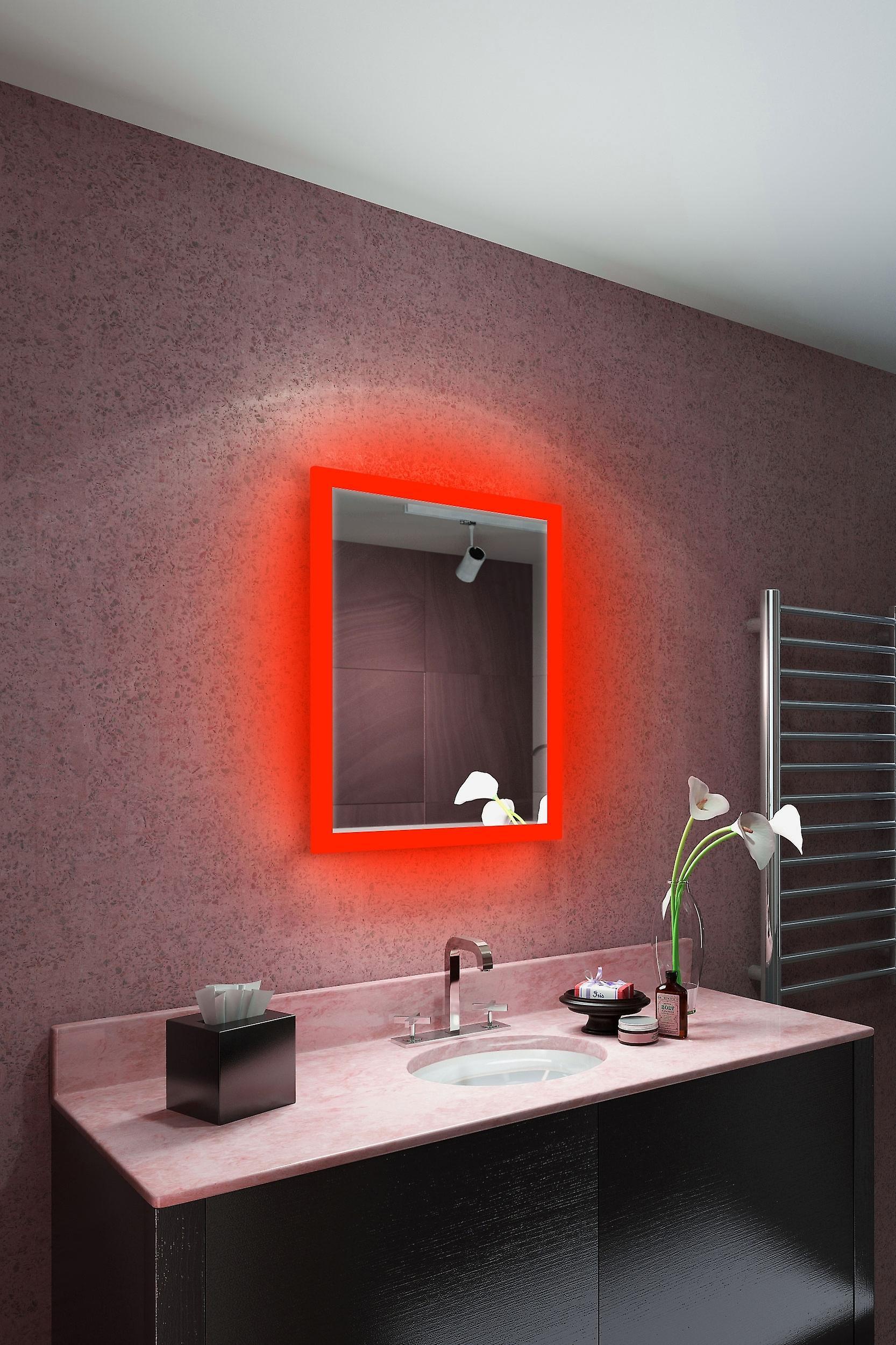 RGB Audio Shaver Mirror with Bluetooth, Demist, Sensor K1416irgbaud