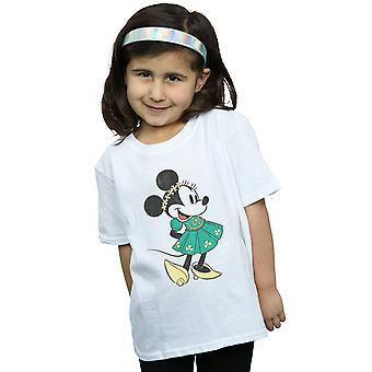 ディズニー女の子ミニー マウス聖パトリックの日の衣装 t シャツ