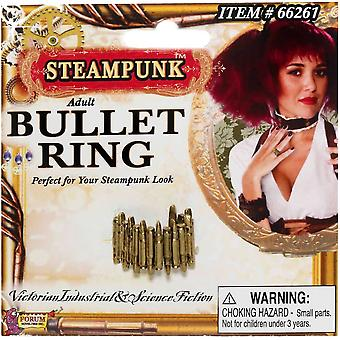 Steampunk stijl Bullet Ring